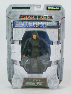 Star-Trek-Enterprise-Broken-Bow-Sub-Commander-T-039-Pol-MIB