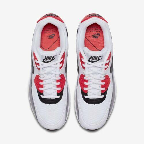 Wmns Nike Air Max 90 UK 5.5 (EUR 39 White/Dust/Solar Red/Black 325213 132 91209927007