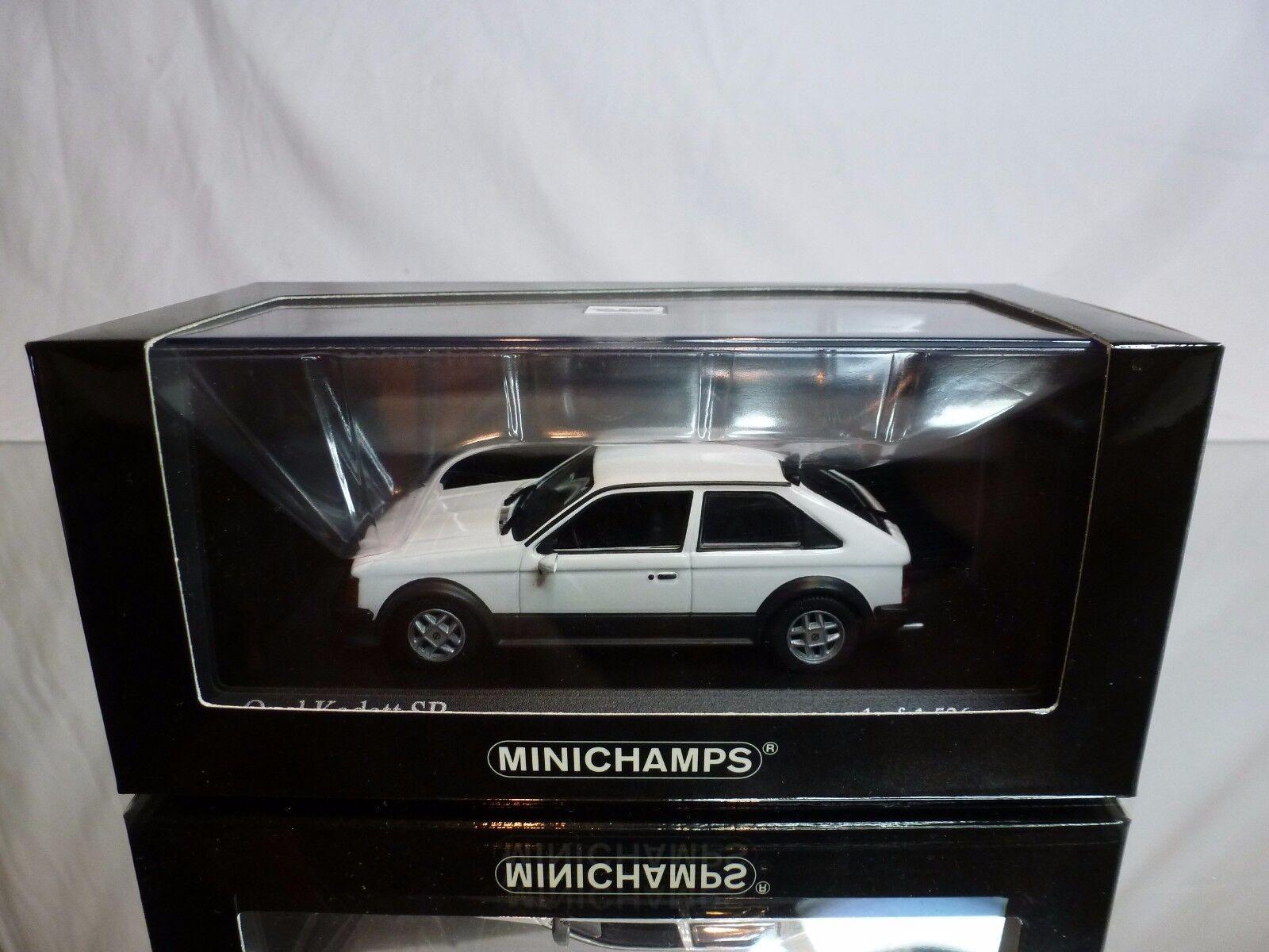punto de venta barato MINICHAMPS MINICHAMPS MINICHAMPS 44120 OPEL KADETT SR 1979 - blanco 1 43 VERY RARE - EXCELLENT IN BOX  buen precio