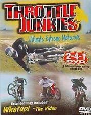 DVD VIDEO Ultimate Extreme Motocross Sports THROTTLE JUNKIES