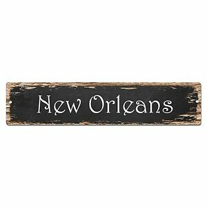 Sp0210 new orleans street sign bar store shop pub cafe home room chic decor ebay - New orleans home decor stores property ...