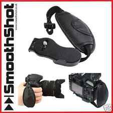 Comfy Cuoio da polso hand grip UNIVERSALE cinturino da polso per DSLR + SLR Canon Nikon ecc.