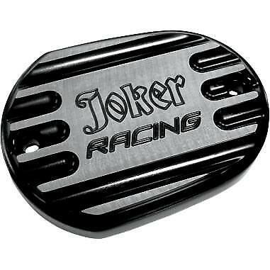 Black 10-381B* Joker Machine Front Master Cylinder Cover  Joker Racing