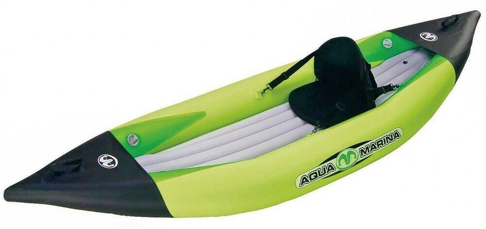Aqua Marina Kajak K1 BT-88862 para 1 Person - Canoa - Bote 312 cm Cámping