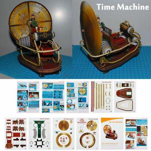 7-9-034-Time-Machine-Handcraft-Paper-DIY-Model-Kit-Toy-Children-Kid-Gift-Hobby
