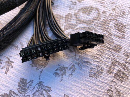 EVGA SUPERNOVA 850 G2  18 PIN 10 PIN  to 24 PIN MOTHER BOARD POWER CABLE