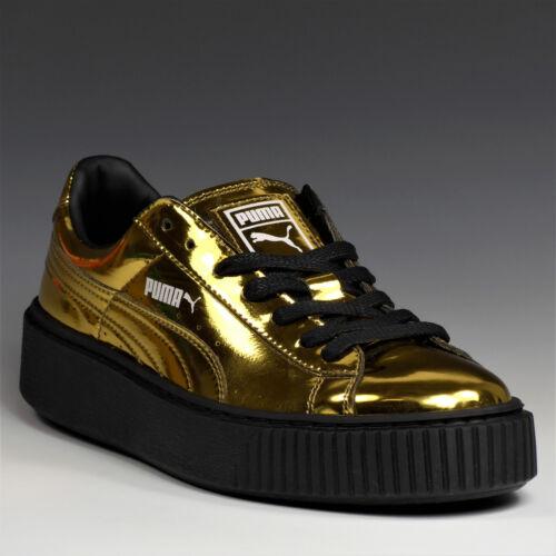 vernice Puma Platform Novità da Basket Scarpe 04 in Sneakers donna 362339 Metallic Cww1aT8qf