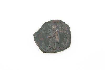 Byzantinische Münzen Constantine X Ducas Jesus Christus S Weich Und Leicht 1059-1067 Roman Byzantinisch Ae Follis Vf