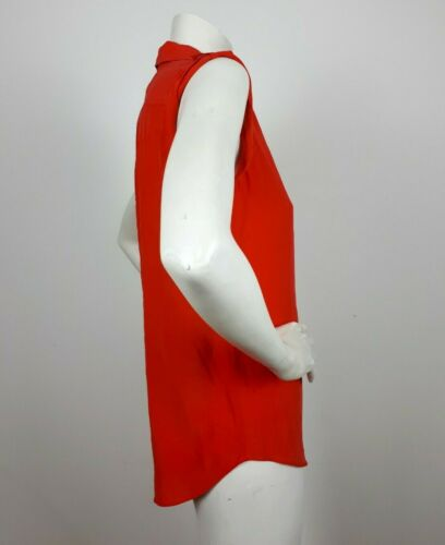Epaulettes 100 Shirt Equipment Silk Coral Red Xs Sleeveless xXOwCwqEp