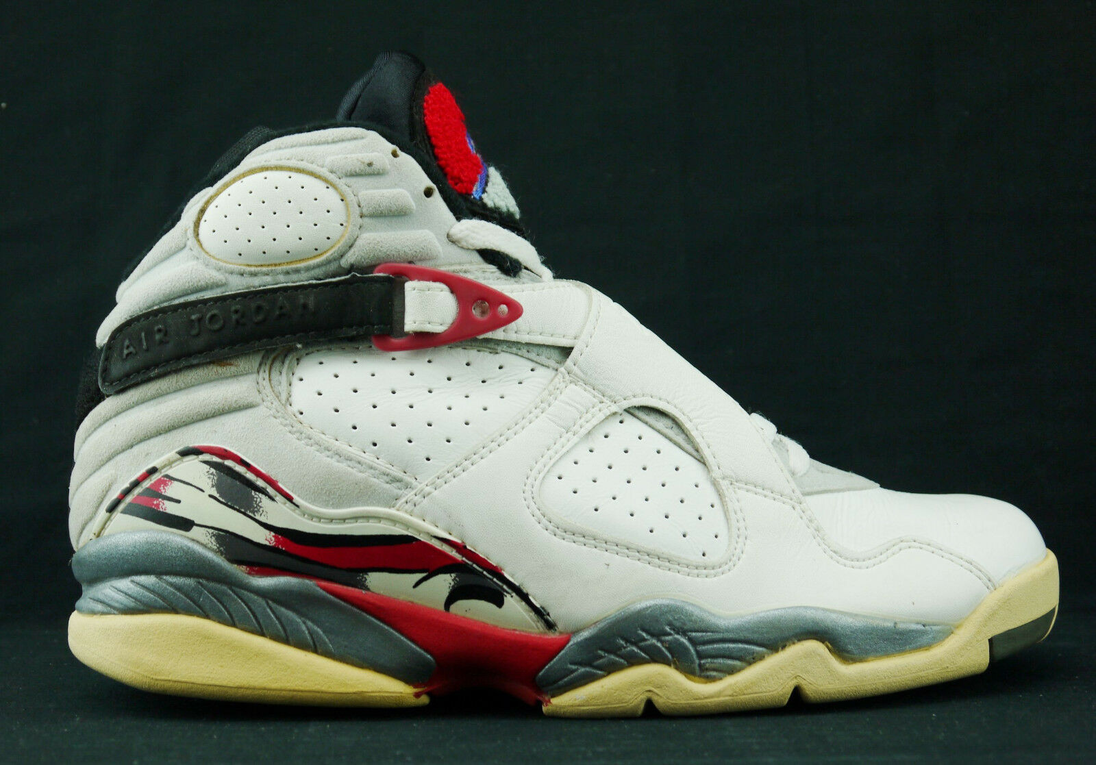 Nike Air Jordan 8 VIII OG Vintage Bugs Bunny 130169 100 sz 8.5 One shoe only 003