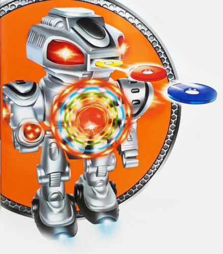 Star fighting robot défendre shooting clignotant diapositive émettent lights sound uk stock