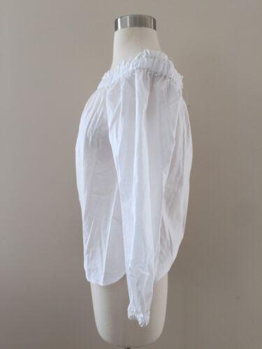 Haut épaules à Sz dénudées G2654 00 White 69 50 Jcrew AqRaxwa