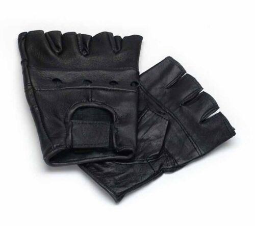 7-11 Lederhandschuhe ohne Finger Auto Handschuhe fingerlose Autohandschuhe Gr