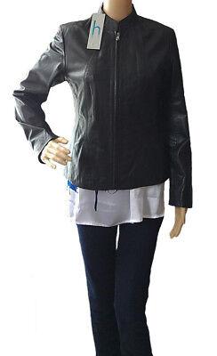 a8e36841b Helium women's black leather jackets size 8UK | eBay