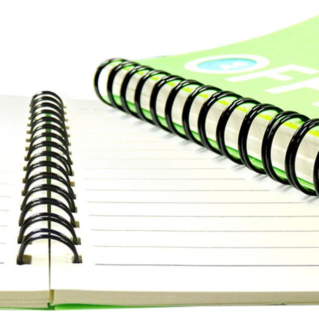 45 Sheets x 100 GBC ProClick Binding Spines 8mm A4 Black
