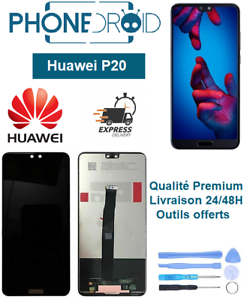 Ecran-complet-LCD-vitre-tactile-Huawei-P20-Outils-offerts-stock-FR