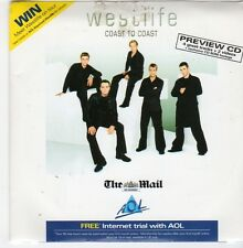 (FI481) Westlife, Coast to Coast - 2000 The Mail CD