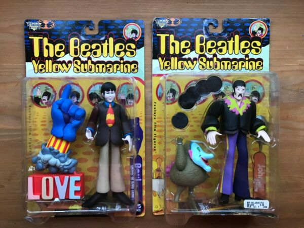 Beatles Yellow Submarine Mcfarlane 1999 Figures New In Box Sealed Clair Et Distinctif
