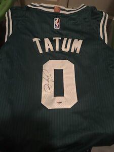 newest d7fc0 59c97 Details about Jayson Tatum Signed Autographed Boston Celtics Jersey! PSA  COA!