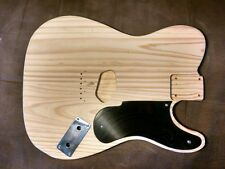 Guitar Body unfinished PINE fits tele parts LP Pickguard