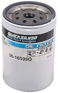 New Oil Filters quicksilver 35-16595q Fits MCM High-performance GM V-8 engines