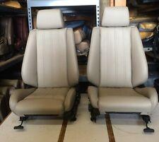 BMW e30 325i/ 318i New Front Sport Seats (84-92) $1400 Pearl Beige, Tan or Blk