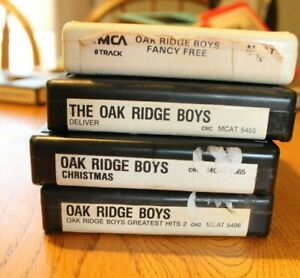 Lot-4-Oak-Ridge-Boys-Country-8-tracks-8-track-tapes-Tested-working-Greatest-Hits
