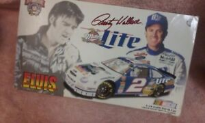 NEW-IOB-RUSTY-WALLACE-ELVIS-MILLER-LITE-2-50-TH-ANNIVERSARY-NASCAR-FORD-1-2