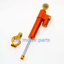 For KTM DUKE125/200/390 2010-2014 CNC Steering Damper Stabilizer Universal Fit