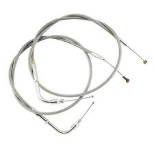 Stainless Clear-Coated Throttle Cable 102-30-30041 Barnett
