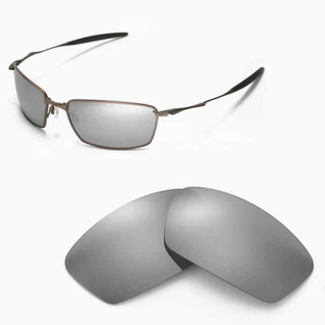 f4c88788e9 WL Polarized Titanium Replacement Lenses for Oakley Square Whisker ...