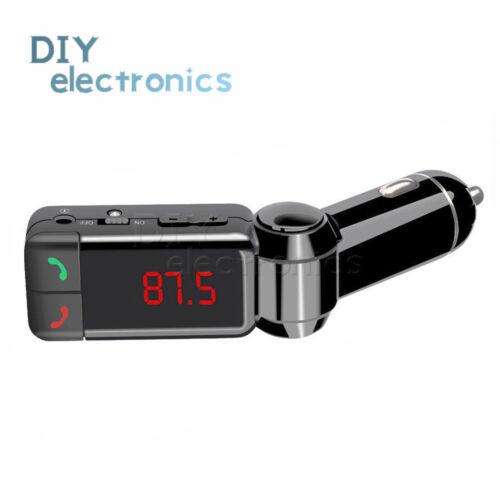 Wireless Bluetooth FM Transmitter Radio MP3 Player Car Kit Hands Calling US