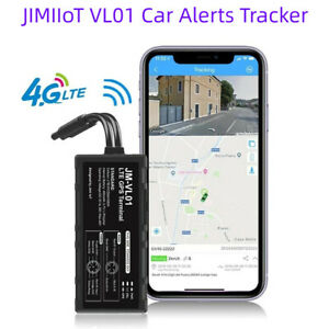 JIMI VL01 4G GPS Car Alerts Tracker w/ WiFi Real-time Tracking Remote Monitoring