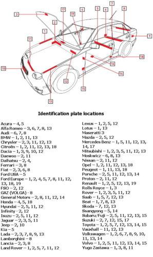 Coche Retocar Pintura Reparación Mazda Cristal Blanco Perla Metálico código 34K