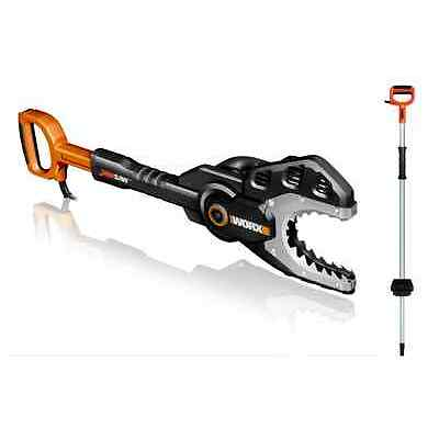 WG308 WORX JawSaw Electric Chainsaw + Extension Pole Accessory Combo