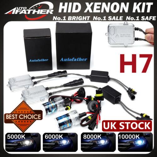 55W H7 HID Xenon Conversion Kit 6000K 8000K 10K Car Headlights Ballasts UK