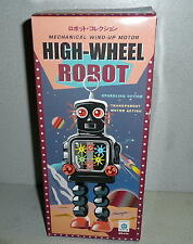 Schylling HA HA Toys Mechanical Wind-Up Motor HIGH-WHEEL ROBOT *Unused REMAKE