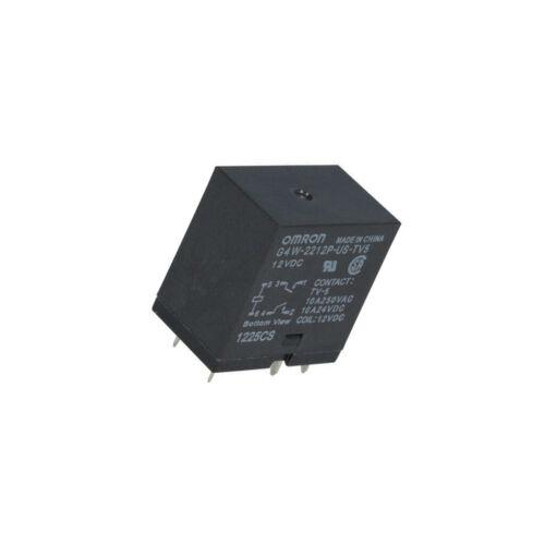 G4W-2212P-US-TV5 12VDC Relais elektromagnetisch DPST-NO USpule G 12VDC Serie