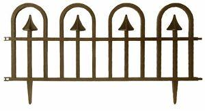 Steccato-recinto-in-ABS-oro-antico-per-recinzione-aiuole-giardino-cm-60x31-5h-pe