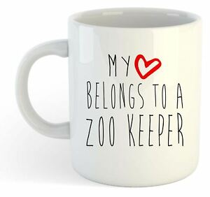 My Heart Belongs à Une Zoo Keeper Tasse Rqmusk3k-08002926-377304794