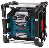 Bosch Power Box Rechargeable Jobsite Radio 360 Sound AUX Refurbished PB360S
