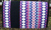 Custom Santa Cruz Show Blanket - 38x34 (black Base/purple, Pink, Blue Accents)