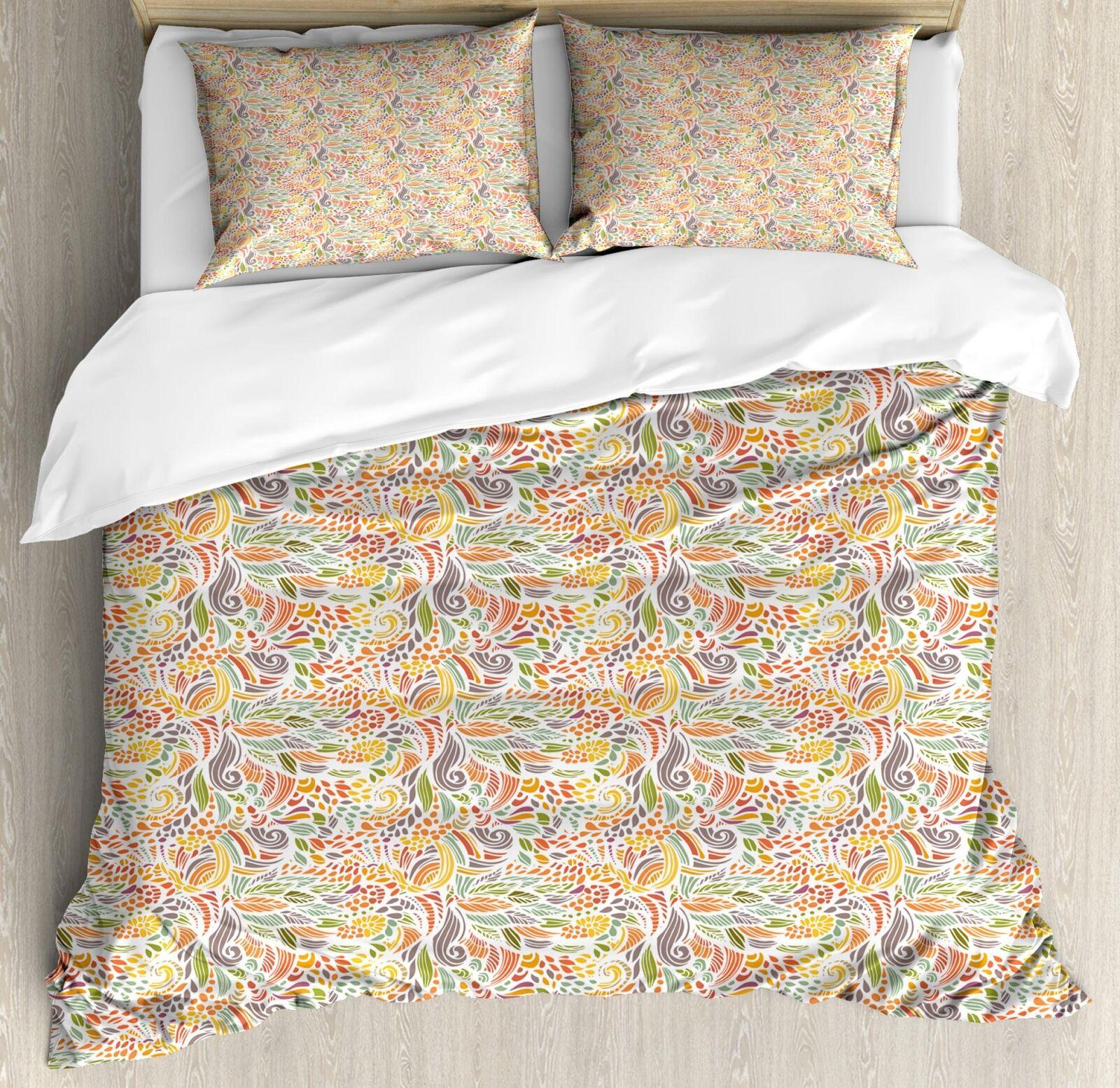 Weibliche Wellen Bettbezug Set Twin Queen King Größes with Pillow Shams