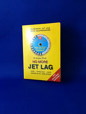 Jet Lag elimination aid Acupressure chart with time zone wheels simple to use