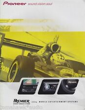 Pioneer Premier Mobile Entertainment Systems 2004 Catalog