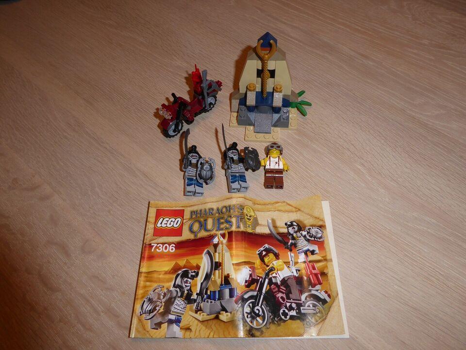 Lego Pharaohs Quest, Golden Staff Guardians - 7306