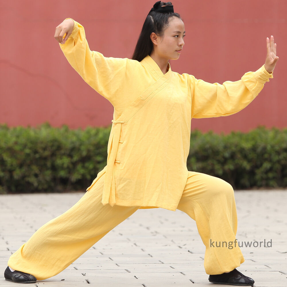 Women's Robe Style  Tai   Uniform Wushu Kung fu Wing Chun Martial arts Suit  on sale