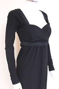Max-Mara-Black-Corset-Dress-40-uk-8