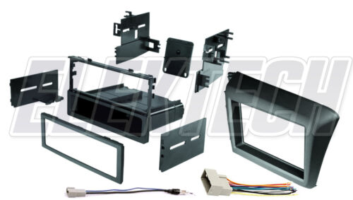 Radio Dash Mounting Kit Single//Double DIN with Harness /& Antenna for Civic