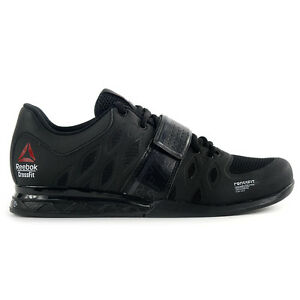 Reebok-Men-039-s-Crossfit-Lifter-2-0-Black-Coal-Training-Shoes-V72382-NEW